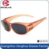 Wholesale Windproof Fashion Polarized Fit Over Sunglasses With Bling PC Frame Eyewear from china suppliers