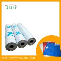 Wholesale Color Steel Palte Polyethylene Protective Film , PE Foil Plastic Packaging Film from china suppliers