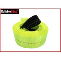 Wholesale High Tenacity Industrial Polyester Yarn Heavy Duty Tow Straps Car Recovery Straps With Hooks from china suppliers