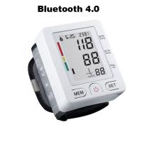 Wholesale Bluetooth 4.0 Wrist digital lcd blood pressure monitor portable Tonometer Meter blood pressure meter for iOS and Android from china suppliers