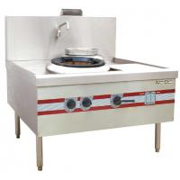 Wholesale Environmental Chinese Cooking Stove Quiet Turbo Wok Range 1200 x 1220 x (810+450) mm from china suppliers