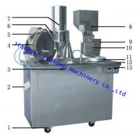 Wholesale high quality 304stainless steel Semi-Auto Capsule filling machine china manufactory from china suppliers