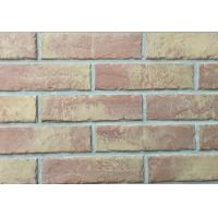 Wholesale Cultured Brick Veneer Siding Panels , Color Brick Tiles For Interior Walls from china suppliers