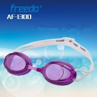Wholesale Double Color Strap Competition Swim Goggles , Racing Swimming Goggles from china suppliers