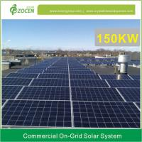 Wholesale 150KW Solar Photovoltaic System 50Hz / 60Hz Mounting Less Space from china suppliers