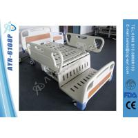 Wholesale Chair Position Electric Intensive Care Bed , Three Function Medical Beds For Elderly from china suppliers
