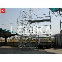 Quality Scaffold Tower Layer Truss Plastering Working Bench Outdoor Event Truss With Wheels for sale