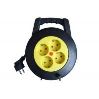 Wholesale 4 Way 220V Small Cable Reel Extension Cord Power Strip 16 Amp PP Material from china suppliers