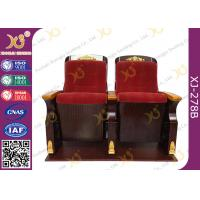 Wholesale Fire Retardant Commercial Fabric Auditorium Theater Seating / Concert Hall Chairs from china suppliers