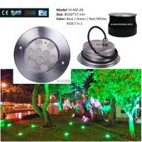Wholesale No UV Blue / Green Outdoor Garden Ground Lights 50000 Hours Lifespan from china suppliers