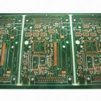 Wholesale 4 Layers Gold Plating PCB with FR4 Board, Suitable for Electronic Appliances from china suppliers