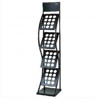 Wholesale Cross Style Black Metal Magazine Rack Bookshelf Four - Layer DX-K130 from china suppliers