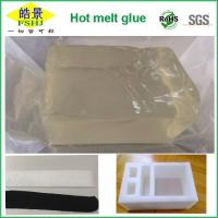 Wholesale Pure Clear Hot Melt Adhesive Block Strong Initial Stickiness Hot Melt Pressure Sensitive Adhesive For EPE Foam from china suppliers