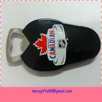 Wholesale promotion custom metal Bottle Opener with soft PVC coated from china suppliers