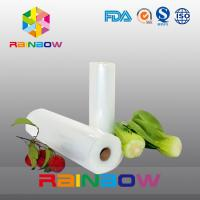 Wholesale Nylon Embossed Vacuum Bag / Food Packaging Films Roll High Barrier from china suppliers