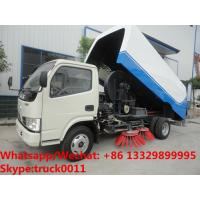 Wholesale Factory sale cheapest price China-made dongfeng road sweeping vehicle, Wholesale good price street sweeper vehicle from china suppliers