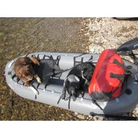 Wholesale Portable Inflatable Fishing Dinghy , TPU Inflatable Hunting Boat For Durable / Kids from china suppliers
