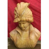 Wholesale Lady Marble bust statue from china suppliers