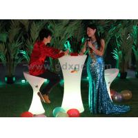 Wholesale High Round Led Bar Tables 16 Colors Changing With Remote Control from china suppliers