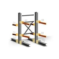 Wholesale Warehouse Heavy Duty Steel Cantilever Rack For Tube Pipe Storage from china suppliers