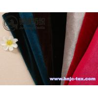 Wholesale Shimmer korea velvet/pleuche/flannelette for apparel fabric from china suppliers