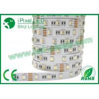 Wholesale 4 In One Self Adhesive Colored RGB LED Strip Addressable DC12V / 24V 30LEDs/m from china suppliers
