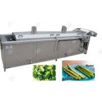 China Automatic Food Precooking Vegetable Blanching and Cooking Machine on sale
