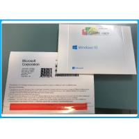 Buy cheap Microsoft Windows 10 Pro Pack OEM 32 / 64 Bit Key Code 100% Activation Genuine from wholesalers