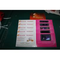 Wholesale Four color printed Video In Print Brochure with TFT screen / USB port , video business card from china suppliers