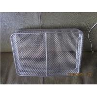 Wholesale Silver Mesh Wire Basket Customized Stainless Steel SUS302 from china suppliers