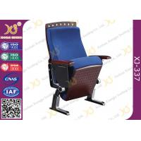 Wholesale Fire Proof Slow Returning Conference Hall Chairs , Church Auditorium Seating Chairs from china suppliers