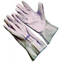 Wholesale Fashionable and comfortable  pink waterproof Vinyl Impregnated Garden Gloves GV101 from china suppliers