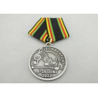 Wholesale Promotional Gift Brass / Copper / Zinc Alloy Custom Awards Medals with Special Ribbon, Die Stamping from china suppliers
