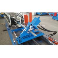 Wholesale PLC Control Stud Roll Forming Machine With Hydraulic Cutting , Forming Speed 0 - 15m / min from china suppliers