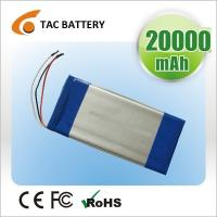 Wholesale high rate 3.7V 10Ah 5C-10C  7270170 polymer lithium  Rechargeable Battery with wire and PCB from china suppliers