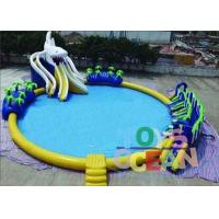 Wholesale Outdoor Commercial Inflatable Water Park Round For Kids Durable Security from china suppliers
