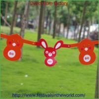 Wholesale cardboard easter egg easter rabbit easter garland easter decoration from china suppliers