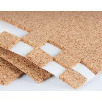 Buy cheap Sticky Transportation Protective Cork Pads for Glass or Mirror with PVC foam 30x30mm by Roll or Sheet from wholesalers
