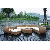 Wholesale outdoor wicker rattan sofa patio furniture set WS-019 from china suppliers