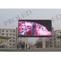 Buy cheap SMD 3535 Full Color Outdoor Led Display , P10 Led Video Display Board For Airport from wholesalers