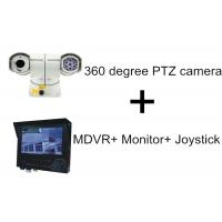 Wholesale High Speed 100M IR Distance Car PTZ Camera With 3G GPS MDVR Monitor Joystick from china suppliers