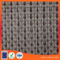 Quality Anti-UV waterproof woven mesh Textilene fabric solar sun lounger fabrics for sale