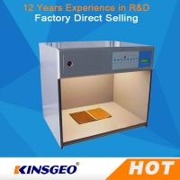 Wholesale Electronic Colour Matching Cabinet , Colour Matching Light Box For Color Assessment Tes from china suppliers