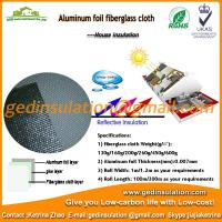 Wholesale Aluminum Foil Backed Fiberglass Cloth,Thin Heat Insulation Material from china suppliers