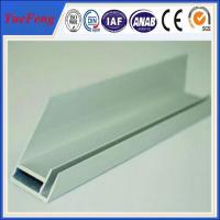Wholesale aluminium extrusion for solar frame with CNC machined holes,cutting from china suppliers