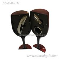 Wholesale 3 pcs cup shape wine bottle opener set from china suppliers