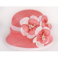 Quality High Quality Philippe Sinamay Women Party Hat Lady Church Hat for sale