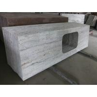 "Wholesale Gray Thick Stone Slab Countertop Stone Vanity Tops 108"" X 25.5"" X 2"" Size from china suppliers"
