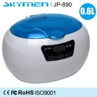 Wholesale Digital Timer Jewelry Ultrasonic Cleaning Machine , Ultrasonic Bath Cleaner 0.6L 35W from china suppliers