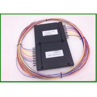 Buy cheap 4pcs 1*2 SM 1310/1550nm Fused Splitter 0.9mm 1m length cable for Line monitor system from wholesalers